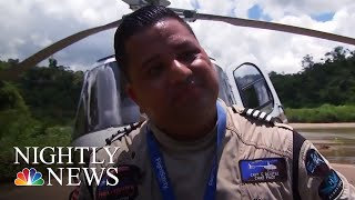Meet The Helicopter Pilot Who Saved Lives During Hurricane Maria | NBC Nightly News - NBCNEWS