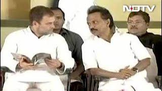 राहुल ही हों अगले PM उम्मीदवार: स्टालिन - NDTVINDIA