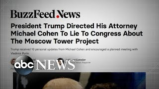 Democrats vow to probe report that Trump told Cohen to lie to Congress - ABCNEWS