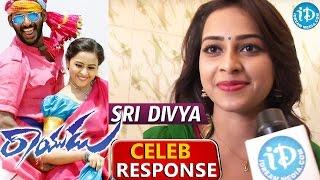 Actress Sri Divya Response About Rayudu Movie || Vishal || M Muthuaiah || D Imman - IDREAMMOVIES