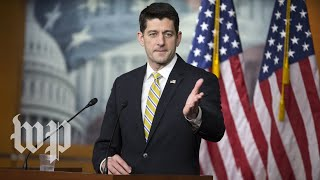 Ryan makes remarks on defense spending - WASHINGTONPOST