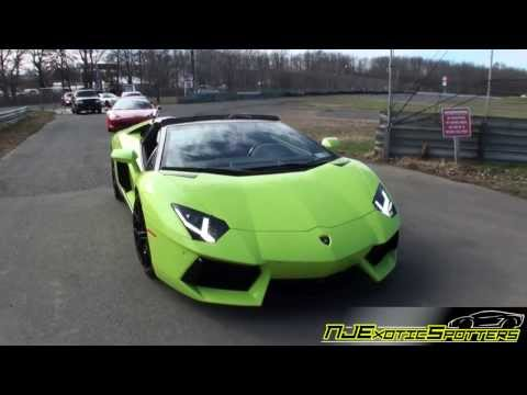 Team Salamone || Verde Scandal Aventador  || Exotics Rally || Turkey Run 2013