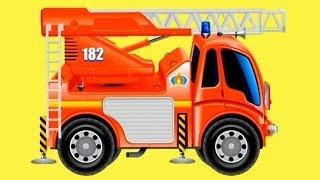 Обзоры мобильных игр - пожарная машина - мультфильм для детей
