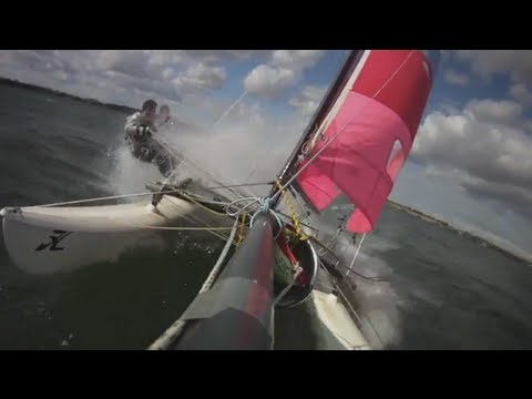 Hobie 16 Speed Sailing