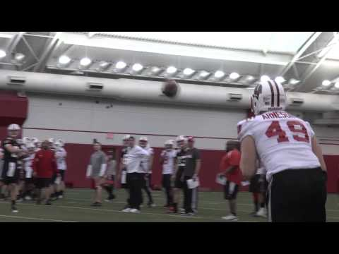 Wisconsin Football Opens Spring Practice