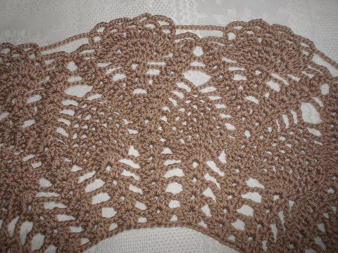 Blusa tejida en crochet /  Blusa tejida para dama en ganchillo parte 2