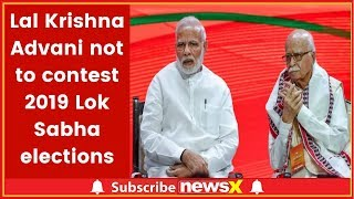 Lok Sabha elections 2019: Lal Krishna Advani not to contest elections due to health reasons - NEWSXLIVE