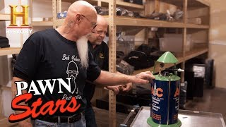 Pawn Stars: 1930s AC Spark Plug Cleaner (Season 14) | History - HISTORYCHANNEL