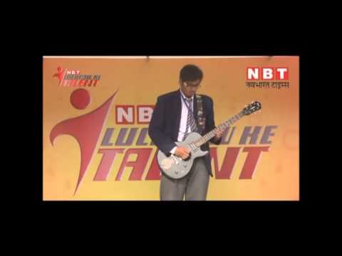 NBT Lucknow Ke Talent winner Aman Srivastava performance @ Virendra swaroop public inter college wmv