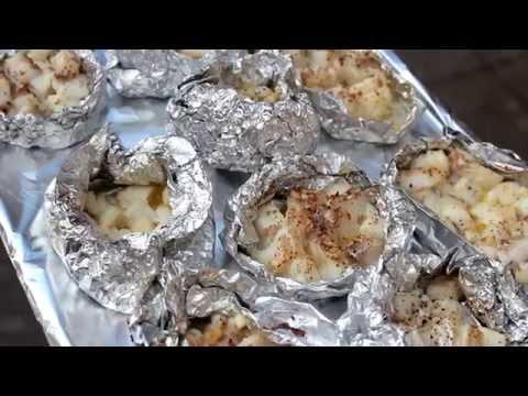 Треска запеченная в фольге с картошкой в духовке рецепт