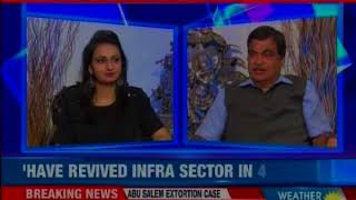 BJP Union Minister Nitin Gadkari speaks exclusively to NewsX over PM Modi's 4 year - NEWSXLIVE