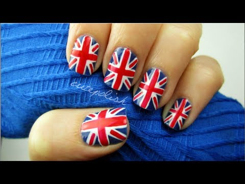 Union Jack Flag Nails