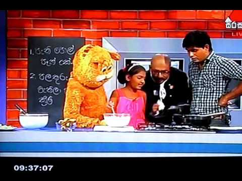 SIRASALINDAYA COOKERY SEGMENT WITH CHEF DUMINDA - 16.04.2014