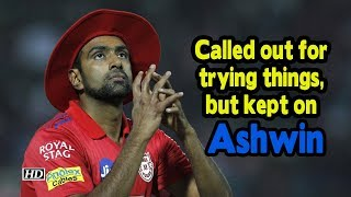 IPL 2019 | Called out for trying things, but kept on: Ashwin - IANSINDIA