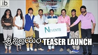 Sri Nilayam Teaser Launch - idlebrain.com - IDLEBRAINLIVE