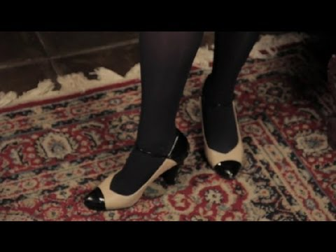 Can I Wear Navy, Opaque Tights for a Job Interview? : Hosiery, Stockings & Tights