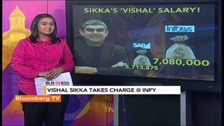 In Business: Decoding Vishal Sikka's Paycheck - BLOOMBERGUTV