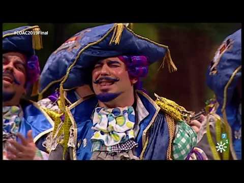 Sesión de Final, la agrupación El marqués de Cádiz actúa hoy en la modalidad de Comparsas.
