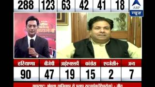 Rajiv Shukla fields questions over Congress fiasco, NCP support to BJP - ABPNEWSTV