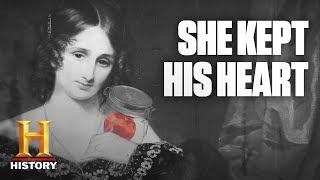 Dark History: Frankenstein Author Carried Around Her Dead Husband's Heart | History - HISTORYCHANNEL