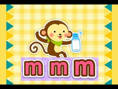 ABC Phonics Chant Song 2 - Level I (M~T) | nursery rhymes & children songs | muffin songs