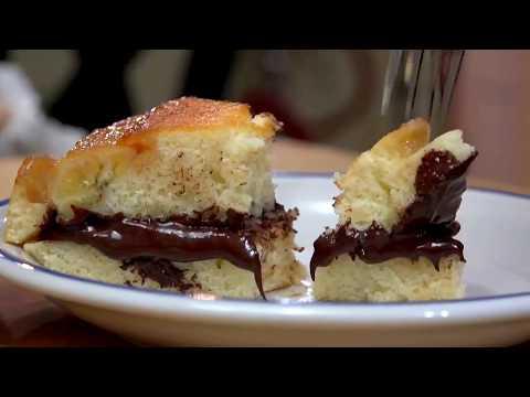 Cake without Oven (كيكة / كعكة من غير فرن بالنوتيلا والموز (وصفة بسيطة جدا