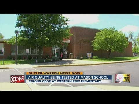Air Quality being tested at Mason school