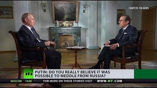 Putin to Fox: Don't hold US-Russia ties hostage to internal politics - RUSSIATODAY