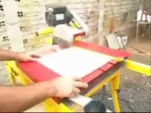 maquina de cortar pisos