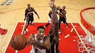 Derrick Rose's 32 Points Against The Pacers