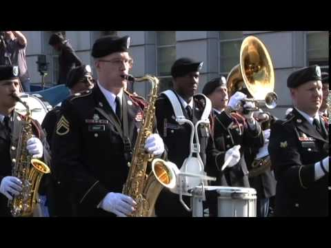 440th Army Band plays for Inauguration Ceremony