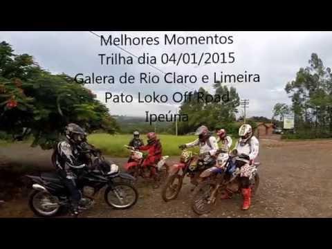 Trilha de Moto 04/01/2015 - Melhores Momentos