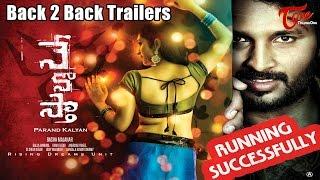 Nenosta Movie  Latest Back 2 Back Trailers | Gnan Prakash, Priyanka Pallavi | #Nenosta - TELUGUONE