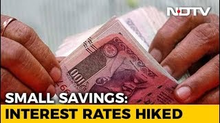 Interest Rates On Public Provident Fund, Other Small Savings Raised - NDTV