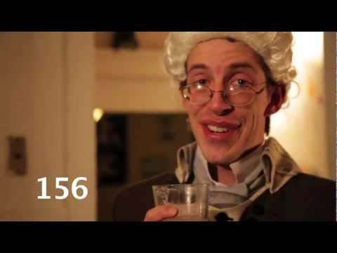 Benjamin Franklin's 220 Synonyms for Drunk