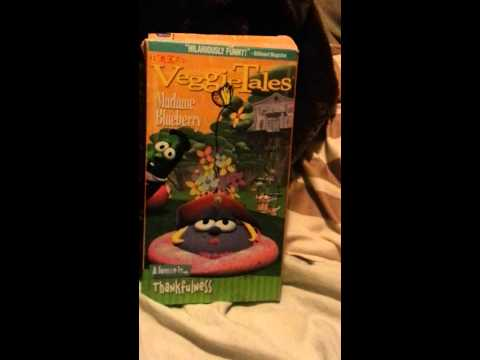 Closing to veggie tales madame blueberry 2002 vhs
