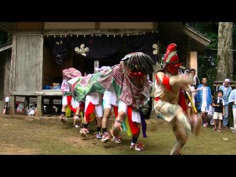 石川県志賀町大福寺 獅子舞2011 キョウブリ