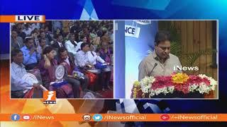 Telangana Excellence Awards 2018 Event In Hyderabad | KTR and Kadiyam Srihari Participated | iNews - INEWS