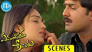 Evandoi Srivaru Movie Scenes || Nikita Thukral Rejects Srikanth Love - IDREAMMOVIES