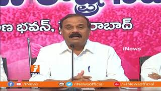 TRS MLC Karne Prabhakar Criticize TG Venkatesh Comments On CM KCR | iNews - INEWS