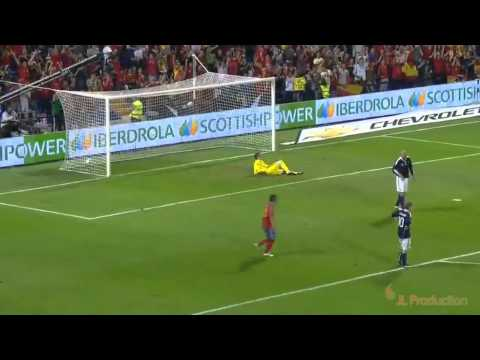 Spain vs Scotland 3-1 2011 | UEFA Euro 2012 Qualifiers | [HD]