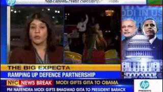 Narendra Modi meets President Obama, outlines key issues faced by India - NEWSXLIVE