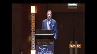 IndiaTV Chairman Rajat Sharma attends ICAI summit in Dubai - INDIATV