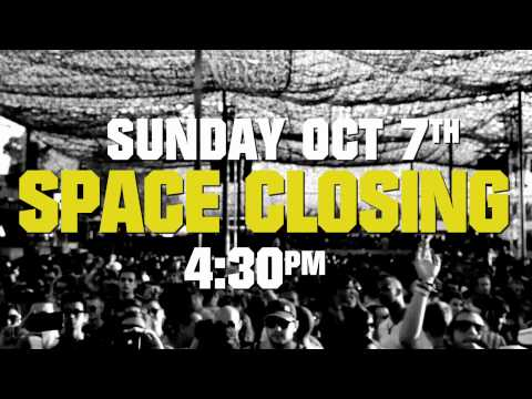Space Ibiza Closing 2012