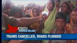 News X ground report from flood hit different districts of Bihar - NEWSXLIVE