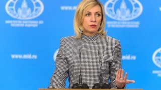 Russian Foreign Ministry Weekly Briefing - RUSSIATODAY