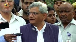 CPM National Chief Sitaram Yechuri in Delhi Over Presidential Elections | Mango News - MANGONEWS