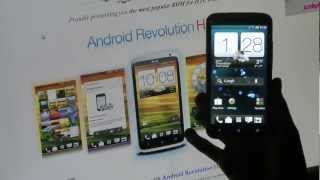 HTC One X Android Revolution HD 3.0.0 ROM How To install & First Look (1.28.401.9)