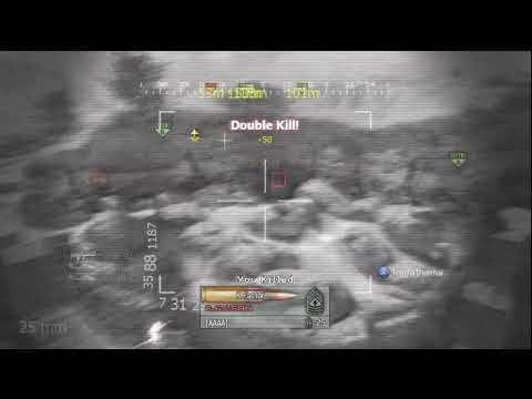MW2: 27 Kills 1 Chopper Gunner (1st day MW2 came out)