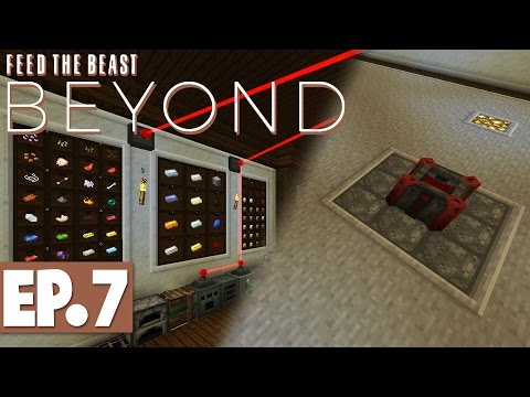 FTB Beyond - Storage Drawers & Getting Started with Blood Magic! #7 [Modded Survival]